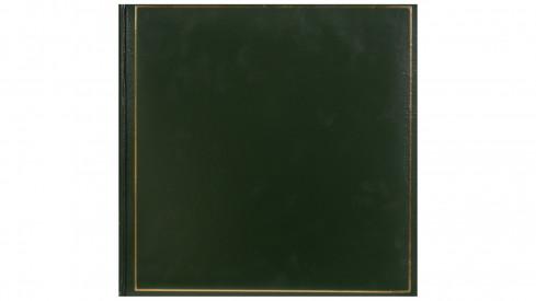 Klasické fotoalbum na růžky 35x35cm/100s. TRADITION zelené