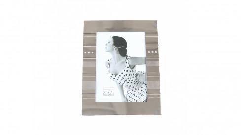 Exkluzivní stříbrný fotorámeček na foto 13x18