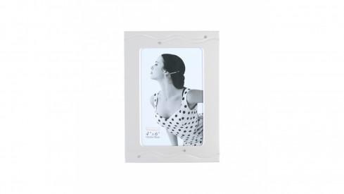 Exkluzivní stříbrný fotorámeček na foto 10x15