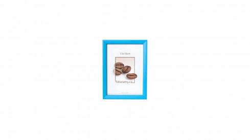 Dřevěný fotorámeček DR0C2 20x30 modrý