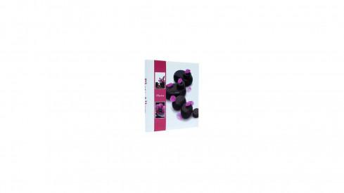 Samolepící fotoalbum 23x28/40s STONE fialové