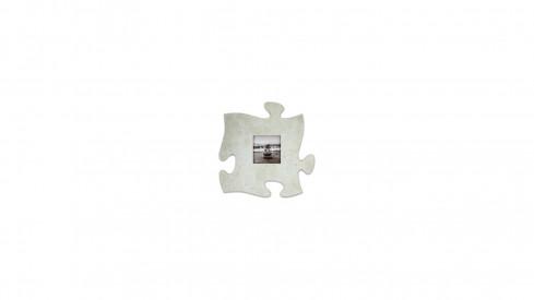 Fotorámeček 10x10 Puzzle šedý