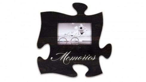 Fotorámeček 15x10 Puzzle černý