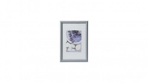 Dřevěný rámeček KARPEX formát A4 21x29,7 cm profil 195R modrá