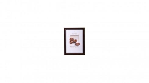 Dřevěný fotorámeček DR002 13x18 tmavě hnědý