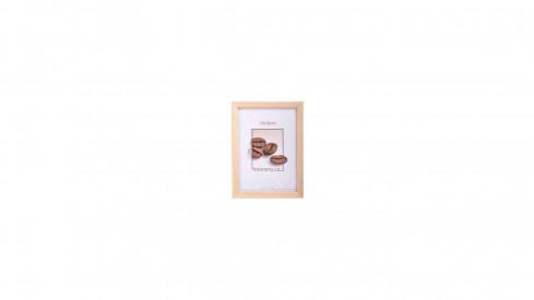 Dřevěný fotorámeček DR002 21x29,7 A4 natural