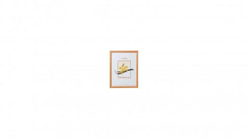Dřevěný fotorámeček DRK08K 21x29,7 A4 01 světle hnědý