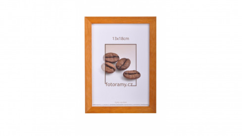 Dřevěný fotorámeček DR004 13x18 teak