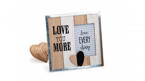 Dřevěný fotorámeček 10x15 STILL IN LOVE II