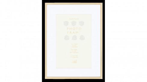 Kovový fotorámeček KNIGHTSBRIDGE PLATED zlatý 20x25