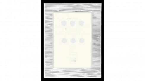 Stříbrný kovový fotorámeček 10x15 WINDSOR Silver