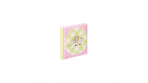 Dětské klasické fotoalbum BEST BUDDY 28x30,5 cm 60 stran růžové