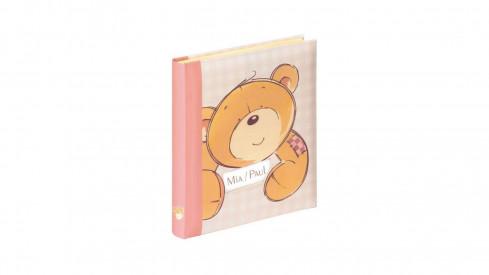 Dětské klasické fotoalbum HONEY 28x30,5/60stran růžové