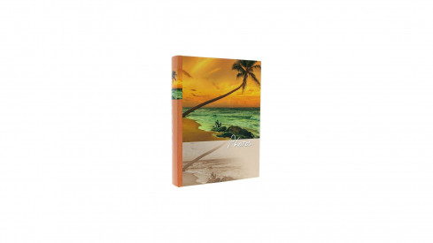 Fotoalbum 10x15/200 SINUS oranžové