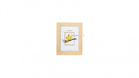 Dřevěný fotorámeček DR005 15x20 natural