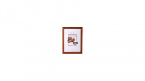 Dřevěný fotorámeček DR002 20x30 sv.hnědý