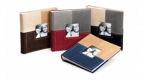 Fotoalbum 10x15/200 foto SECTIONS černé