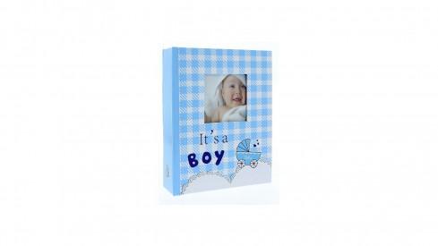 Dětské fotoalbum 10x15/304 foto NINO Modré