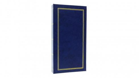 Jendnobarevné fotoalbum 10x15/300 foto modré