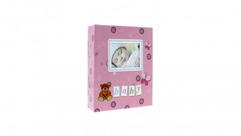 Dětské fotoalbum 10x15/304 foto LOCOTIME růžové