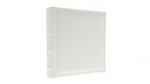 Koženkové fotoalbum 10x15/500 foto WHITE