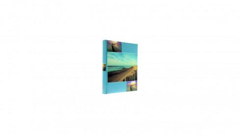 Neutrální fotoalbum 10x15/304 VISTA tyrkysové