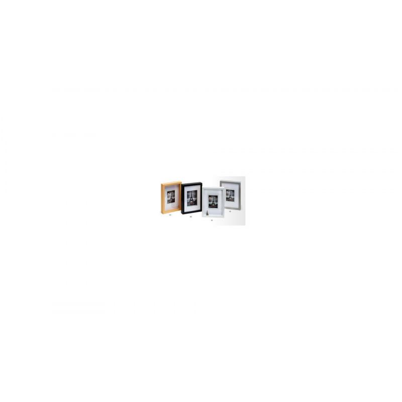 Hluboký dřevěný fotorámeček XXL 30x30 černý