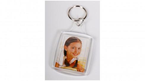 Akrylová klíčenka na fotku...