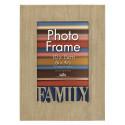 Dřevěný rámeček 10x15 Family