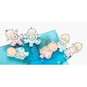 dětský fotokolíček BABY CLIP modrý