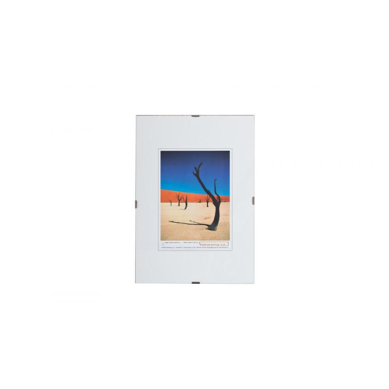 Plastový clip rámeček 40x50