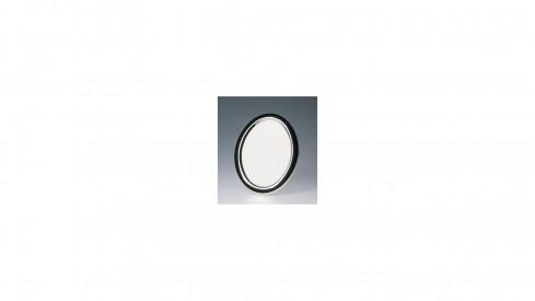Oválný kovový fotorámeček 13x18 BRASIL stříbrný