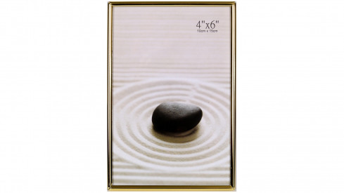 Zlatý fotorámeček HAMBURK 10x15cm