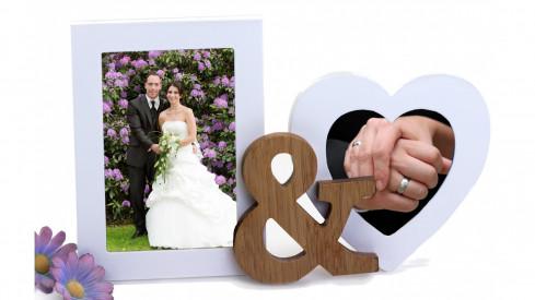 Svatební dvojrámeček 10x15 AT YOUR SIDE
