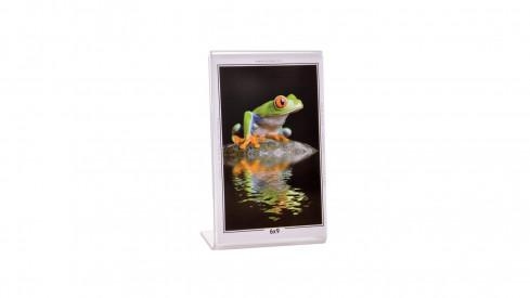 Akrylový fotorámeček KARPEX 6x9cm výška