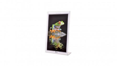 Akrylový fotorámeček KARPEX 9x13cm výška