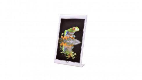 Akrylový fotorámeček KARPEX 10x15cm výška