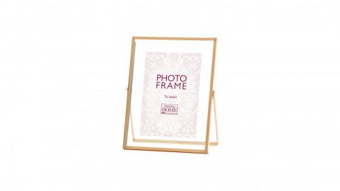 Růžové zlato fotorámeček Rosette 13x18