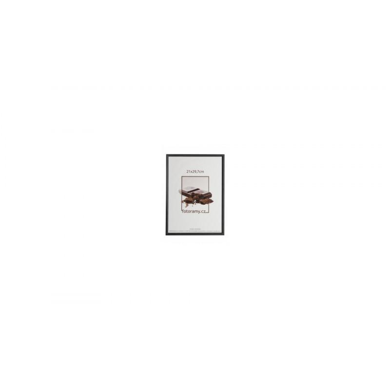 Dřevěný fotorámeček DR0C1K 13x18 C1 černý