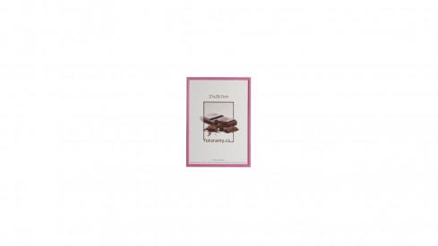 Dřevěný fotorámeček DR0C1K 13x18 C10 fialový