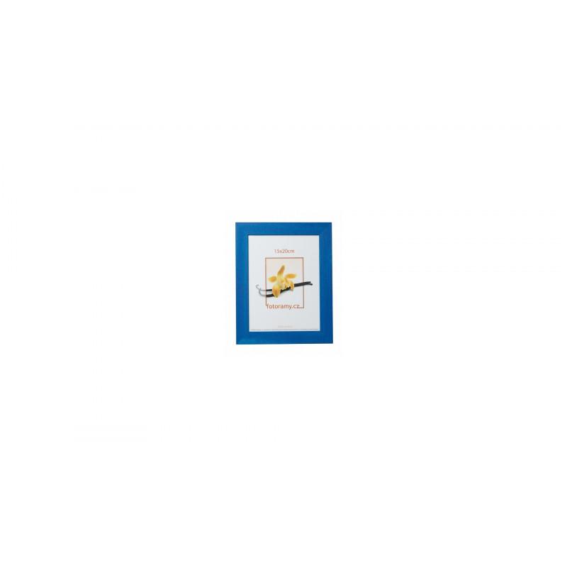 Dřevěný fotorámeček DRC11K 15x20 C2 tmavě modrý