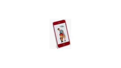Dětský akrylový fotorámeček 10x15 KIDS MOBIL červený