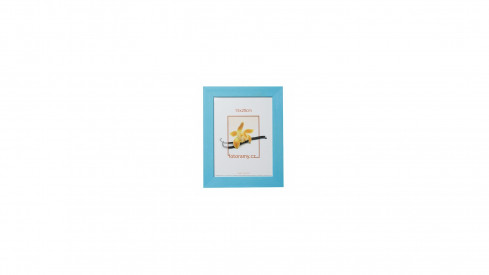 Dřevěný fotorámeček DRC11K 30x45 C4 světle modrý