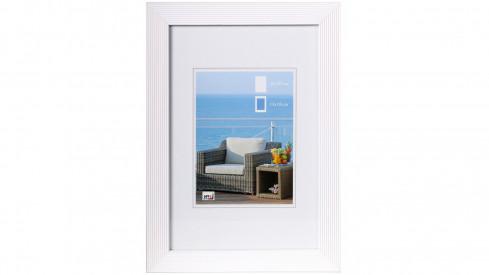 Dřevěný fotorámeček HR-23 10x15 bílý