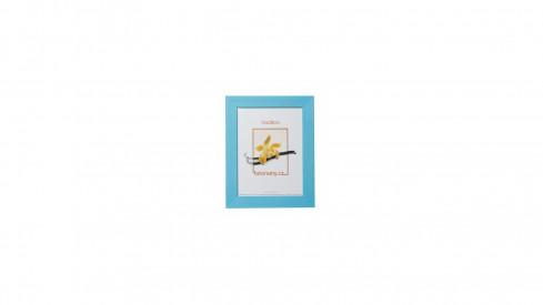 Dřevěný fotorámeček DRC11K 09x13 C4 světle modrý