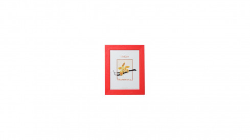 Dřevěný fotorámeček DRC11K 09x13 C8 červený