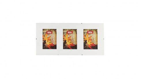Skleněný Clip Fix rámeček Galerie 3foto 10x15
