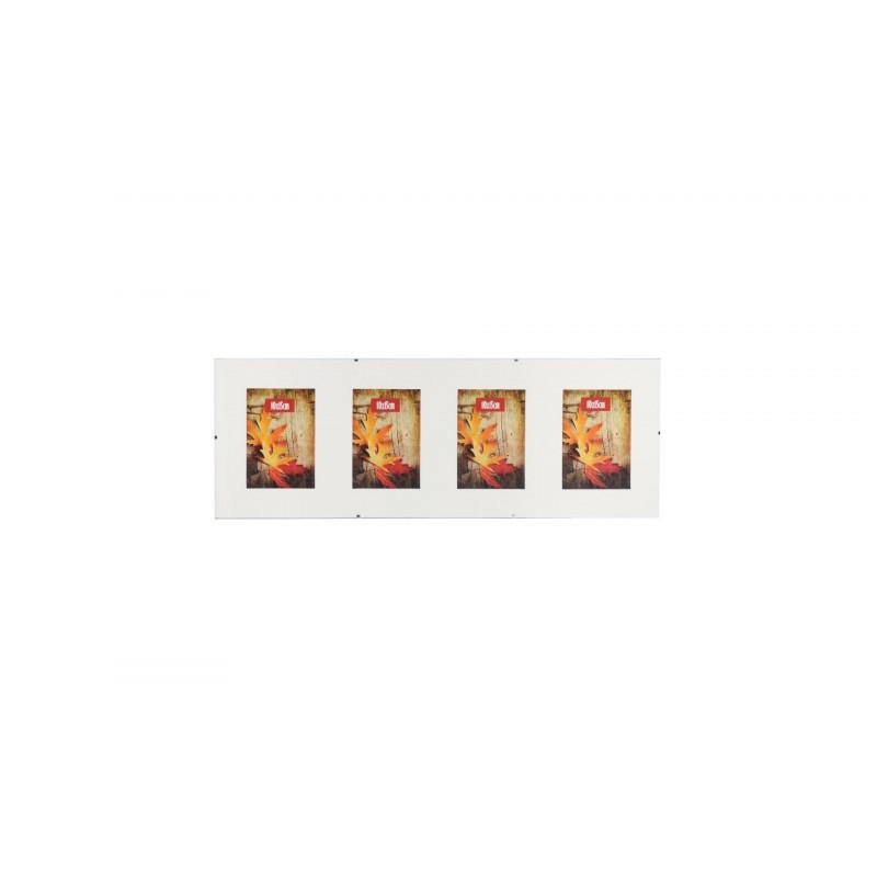 Skleněný Clip Fix rámeček Galerie 4foto 10x15