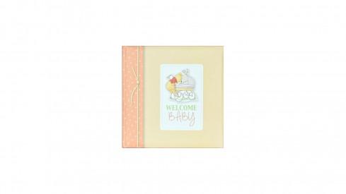 Klasické dětské fotoalbum 25x25/60s. Disney Baby žluté