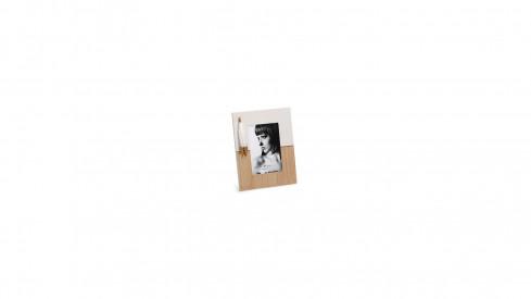 Dřevěný fotorámeček 10x15 NATURE FEATHER